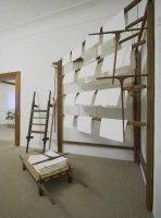 Dřevěné sušáky papíru