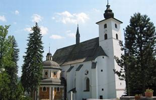 Farní renesanční kostel sv. Jana Křtitele