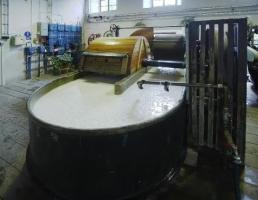 Příprava ruční výroby papíru